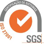 Certificação de Sistemas SGS - ISO 27001